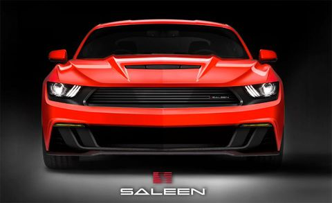 Saleen Previews What It Has in Store for the 2015 Ford Mustang, and It Looks Bad-Ass