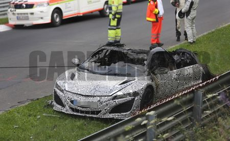 2016 Acura NSX Prototype Burns on Nürburgring, Enters Supercar Inner Circle