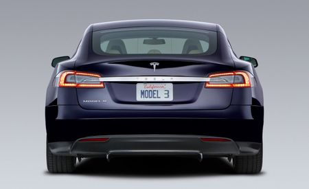 "Tesla Motors Names Next Car ""Model 3,"" Says It Will Follow Model X Crossover to Market"