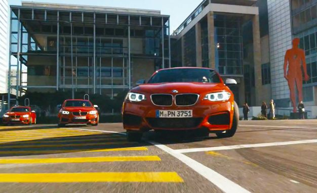 Mob Rules: Watch A Quintet of BMW M235i Coupes Take Urban Drifting to A New Level [Video]