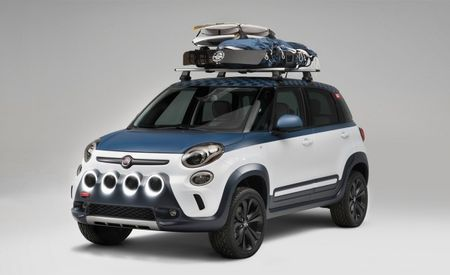 Gnarly! Fiat 500L–Vans Concept Debuts at Vans U.S. Open of Surfing