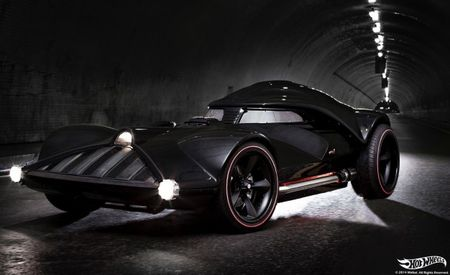 The Darth Car: 12 Things You Need to Know About Hot Wheels' Life-Size, 150-mph Darth Vader Car