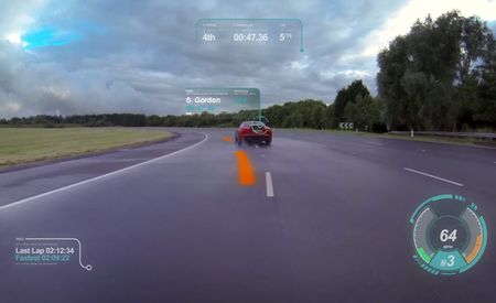 Jaguar's Augmented-Reality Windshield Tech Is Awesome, We Want It Now [Video]