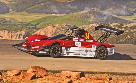 In The Hall of the Mountain Kingslayers: Mitsubishi's MiEV Evolutions Close to Pikes Peak Dominance