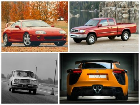 The Ultimate Toyota Thon 15 Greatest Toyotas Ever