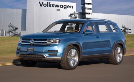 Down-Home German Cookin': VW's Three-Row Crossover SUV Confirmed for Tennessee Production
