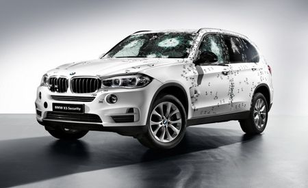 Bullets Over BMWs: Bulletproof X5 Security Plus Is Ready to Protect Muscovite Tycoons
