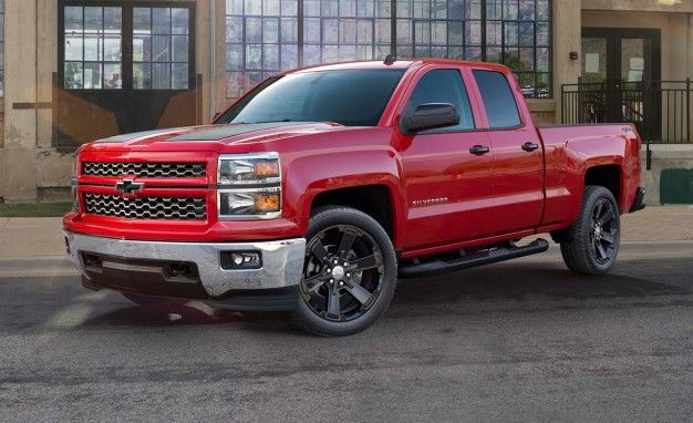 The O'Rally Factor: Chevy Sportifies 2015 Silverado Pickup with New Rally Editions