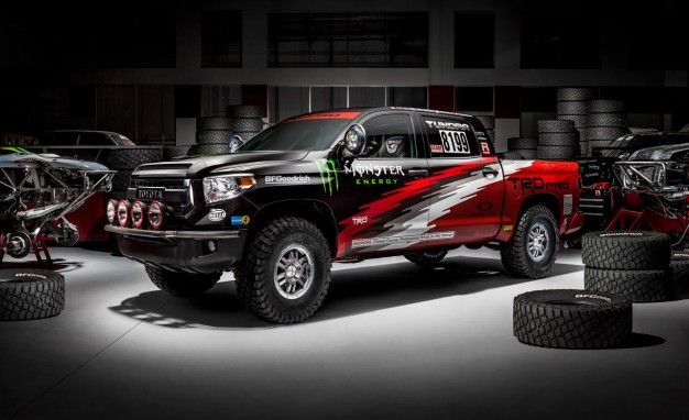 Mexican Grille: Toyota Unveils TRD Pro Series Tundra Baja 1000 Truck