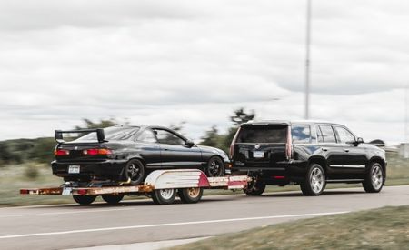 Luxury Lugging: Towing My Track-Prepped Integra with a New Cadillac Escalade