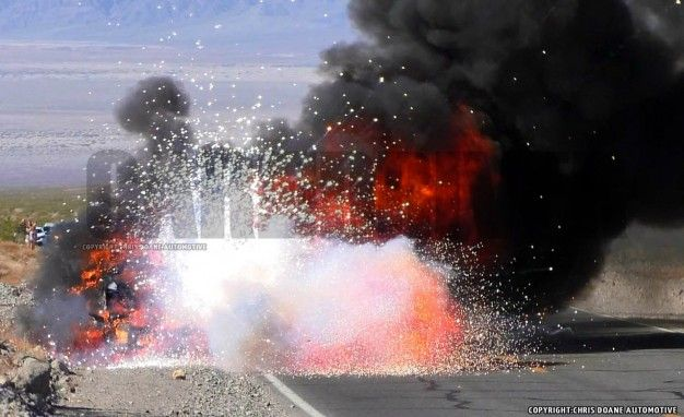 Hot News: 2016 Ford F-series Super Duty Prototype Catches Fire, Explodes!