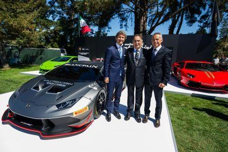 One-seat Wonder: Lamborghini Shows 2015 Huracán LP620-2 Super Trofeo Race Car at Quail Lodge
