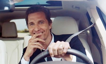 All Right, All Right, All Riiiiggghttt: Matthew McConaughey Is Now Shilling Lincolns