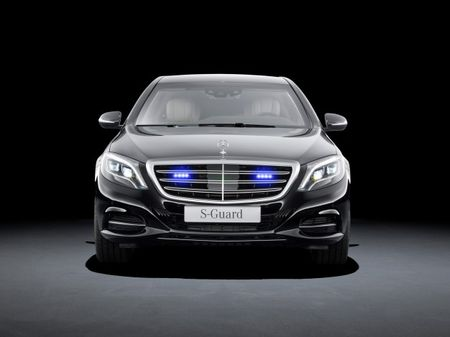 New Armored Mercedes-Benz S600 Guard Invites All the M60 Rounds You Can Muster
