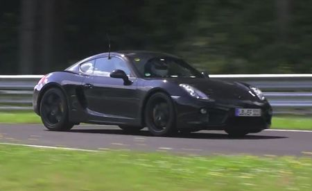 Porsche Boxster and Cayman Prototypes Circle the Nürburgring Under . . . Four-Cylinder Power? [Video]