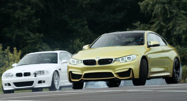 """M Initiation"": 2015 BMW M4 Drifts Through M History in Rad Video"