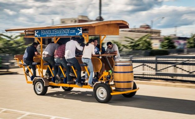 Beer Run: We Test the PedalPub, a 16-Person Alcohol-Fueled Party Bike
