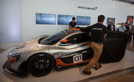 Stronger Stripper: McLaren Unveils P1 GTR Program at Pebble Beach