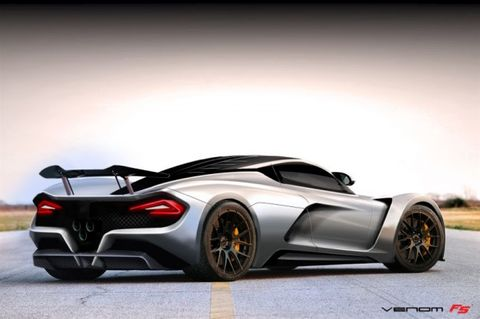 Hennessey Aims for 290 mph with 2015 Venom F5