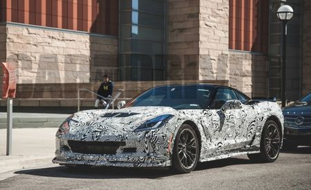 2015 Chevrolet Corvette Z06 Spied in Ann Arbor—With Its Supercharged V-8 Revving! [Video]