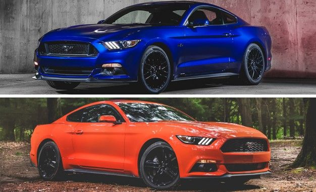 2015 Ford Mustang GT versus 2015 Ford Mustang EcoBoost - Performance ...