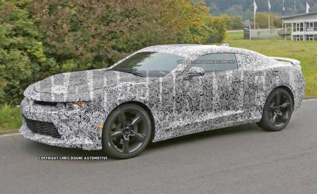 Suck It, Mustang: 2016 Chevrolet Camaro Loses More Camo, Comes Into Clearer Focus