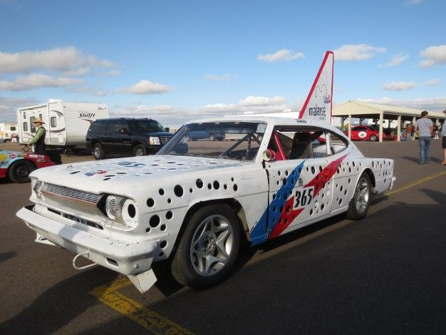 24 Hours of LeMons Colorado Car Inspections: Opel Manta, Renault R5 Turbo, and an Airport-Tug Engine Donor