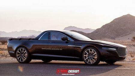 This El Camino Version of the New Aston Lagonda Is El Spectacular