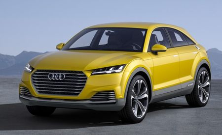 Audi Prepares to Expand TT Lineup with Crossover Variant