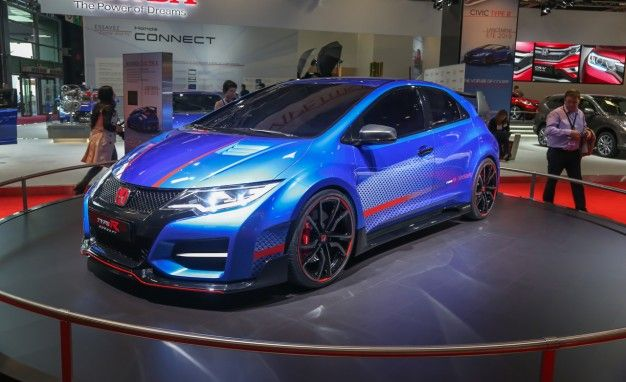 Ding! Drool: Honda Civic Type R Concept II Shown, Many More Details Released
