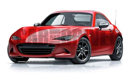 OH, YES: This Is What a 2016 Mazda MX-5 Miata Coupe Would Look Like