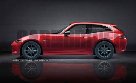 Miata to the Max: Mazda Miata Shooting Brake Rendered