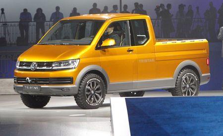 Van-Camino: Volkswagen Tristar Concept Is the German Pickup/Van Mashup to End All Pickup/Van Mashups