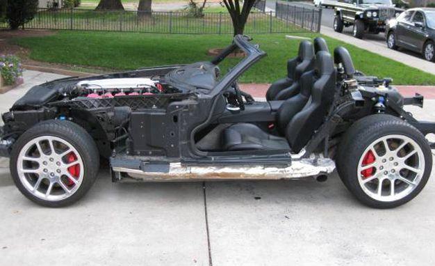 bodyless 2003 dodge viper for sale for 15k almost limitless danger