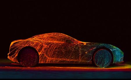 Watching Ferrari's Sexy California T Get Covered in UV Paint Is Mesmerizing [Video]
