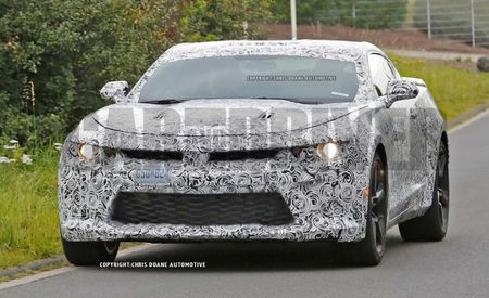 2016 Chevrolet Camaro Spied On Video, Sounds Small-Blocky and Awesome