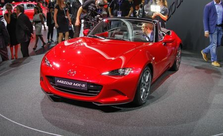 All Ate Up With Motor: 2016 Mazda Miata to Get 2.0-Liter Engine Stateside, 1.5-Liter Elsewhere