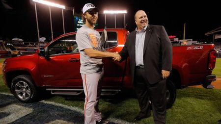 World Series MVP Madison Bumgarner Wins Chevy Colorado, but #ChevyGuy Wins the Internet