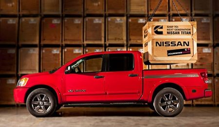 #CUMMINSSOON: Cummins Diesel-Powered Nissan Titan Teased