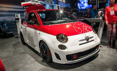 "Custom 500s: Mopar Whips Up Fiat 500 Abarth ""Scorpion"" and 500L ""Custom"" for SEMA"