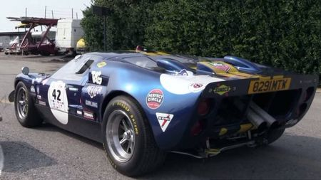The Sound that Slayed Ferrari: Listen to the Hellacious Fury of the Ford GT40 Mk II