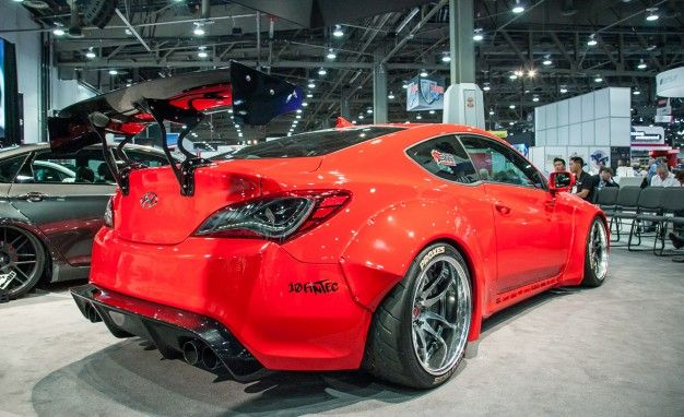 Awesome Blood Type Racing Inc. Releases Its 2014 Hyundai Genesis Based For SEMA 2014