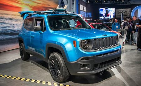 Frosty Tide: Jeep Bringing a Pair of Curiously Named Renegade Concepts to the 2014 SEMA Show