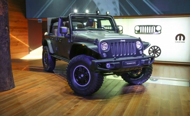 Bad Ass Jeep Wrangler Stealth Slips Into Paris Under Diesel Power U2013 News U2013  Car And Driver