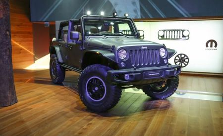 Bad-Ass Jeep Wrangler Stealth Slips into Paris Under Diesel Power