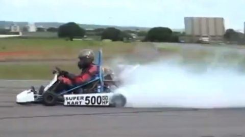 HOLY F&*%: This 500-hp Turbocharged Go-Kart Is Today's Best Way to Potentially Off Yourself