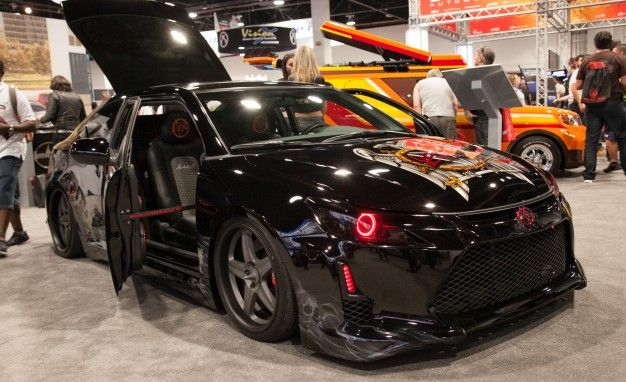 This Is What the World's Come to: A Slayer-Modified—Yes, the Metal Band—Scion tC for SEMA