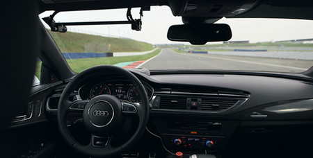 Watch an Audi RS7 Drive Itself Around a Track at 150 MPH—with Nobody Inside