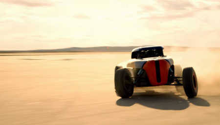 Ford's Massively Awesome Rip Rod Custom Now Has EcoBoost Power, Watch It Tear Across a Lakebed