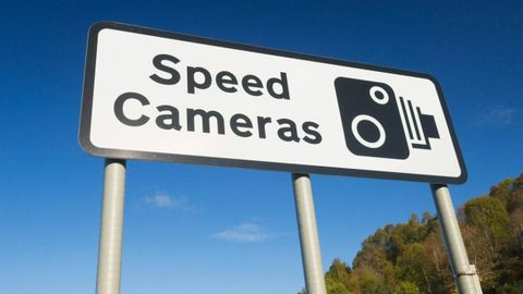 How Fast Would You Need to Go to Beat a Speed Camera?